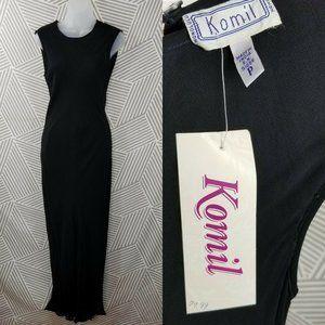Vintage 90s Dress size Small Petite Gauze Layered